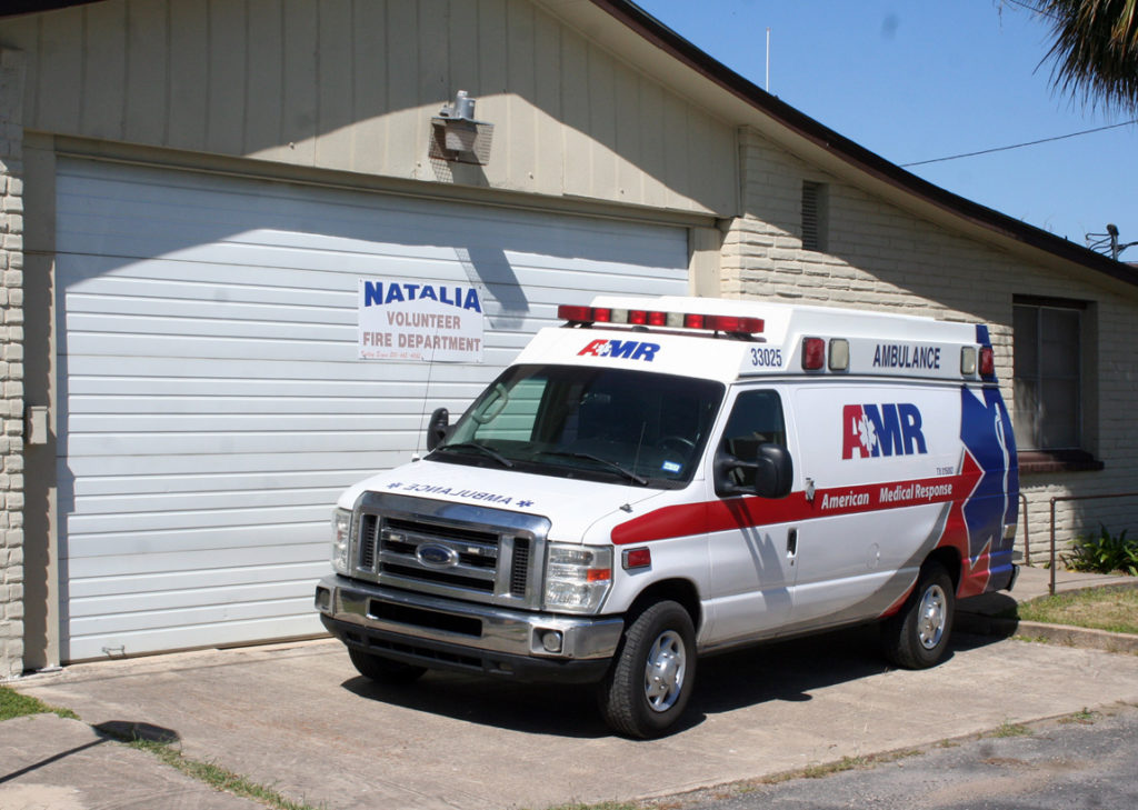 EMS Unit Stationed In Natalia