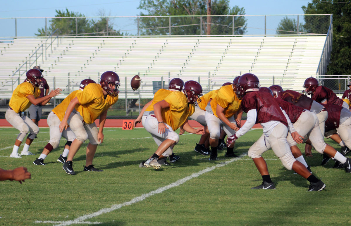 Inter-squad scrimmage a great evaluation tool