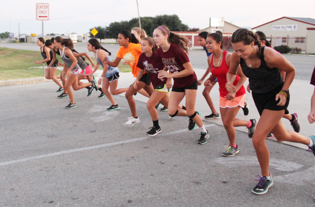 Devine Cross Country preparing for Gonzales Relay