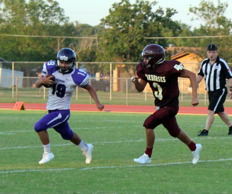 JV Warhorses charge past Greyhounds