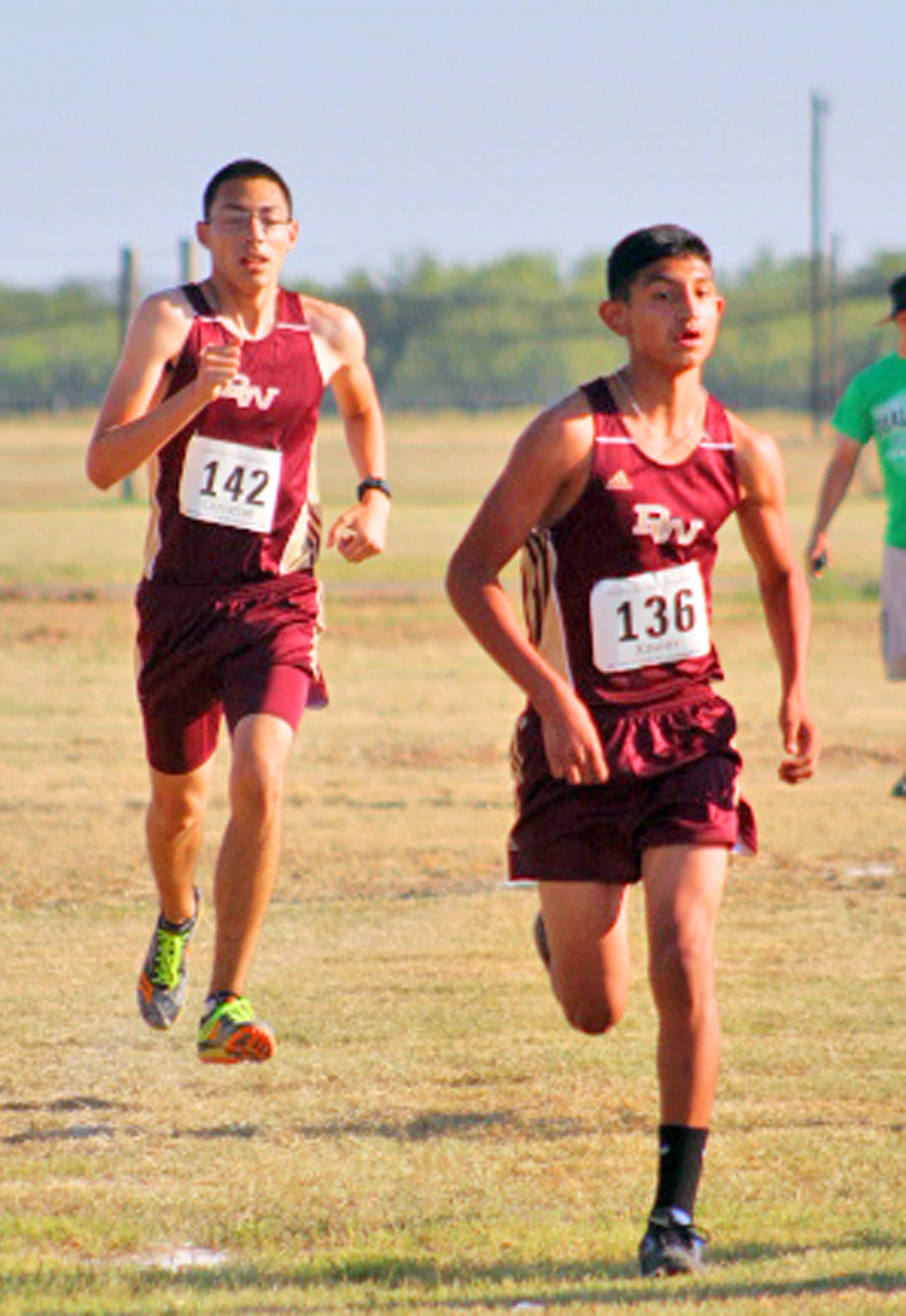 Cross country competes in Hondo
