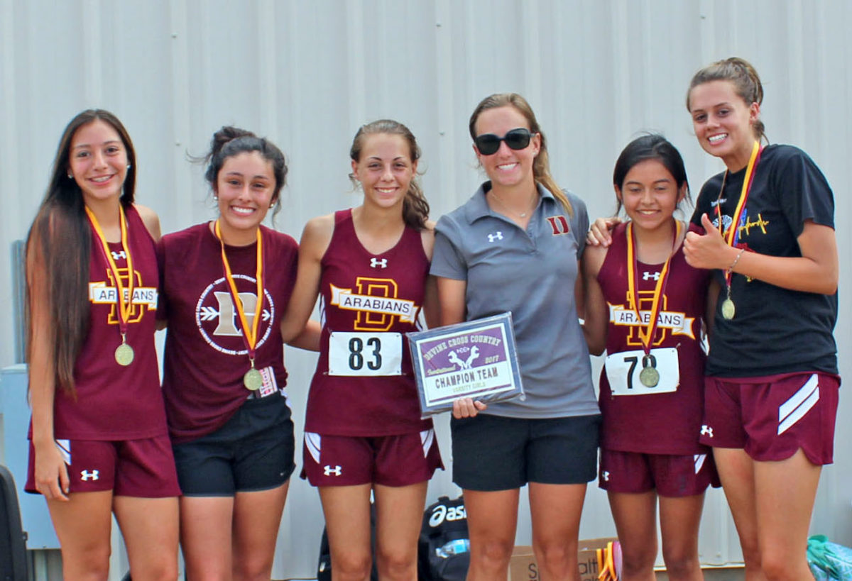 Arabians win Devine Cross Country Invitational; Warhorses take 2nd place