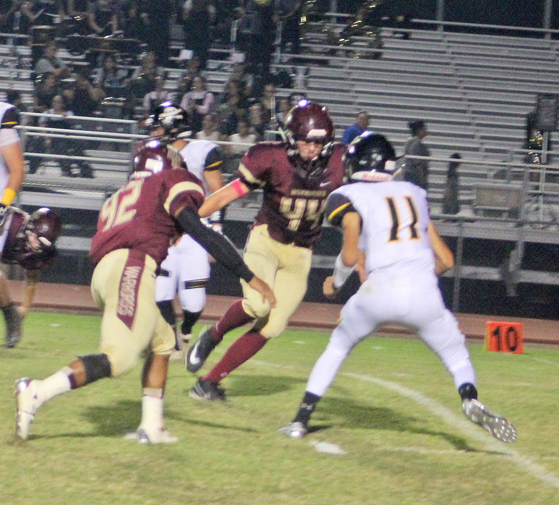 Warhorse offense busts out in big way in 70-34 win over Lytle
