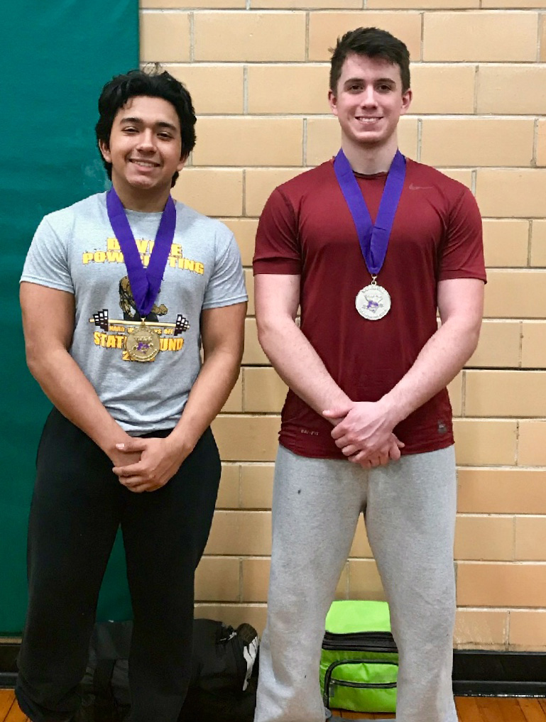 Ramirez, Byrd in action at State powerlifting meet this Saturday