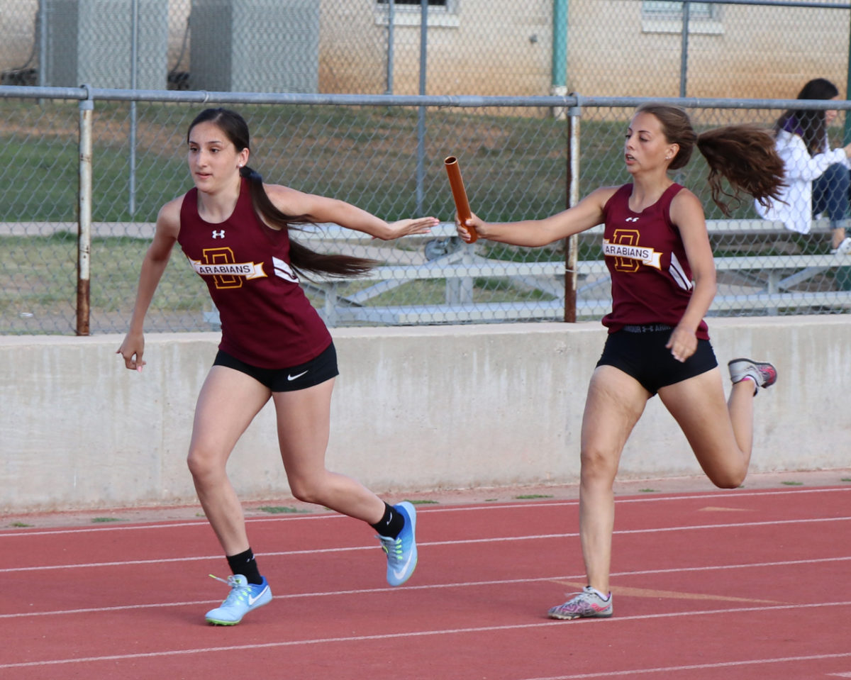 JV Arabians place 2nd in District track meet