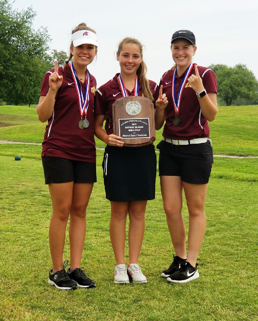 Quisenberry, Busby, and Spivey named to Academic All-District golf team