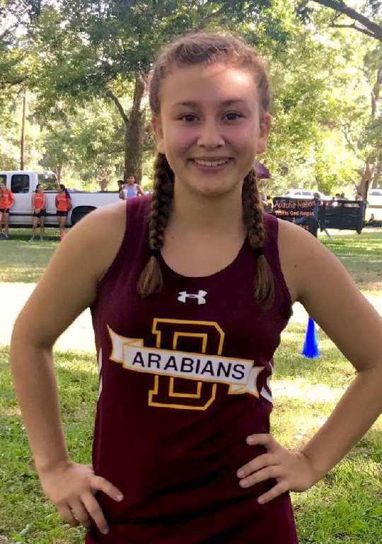 Bri Bowyer Cross Country Runner of the Week