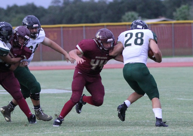 Short-handed defense does enough to secure Warhorse victory