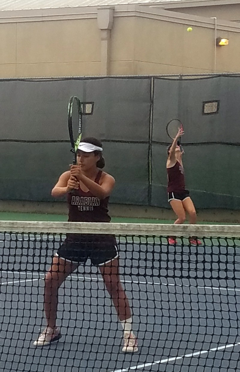 Arabian and Warhorse Team Tennis beat LaVernia 13-6