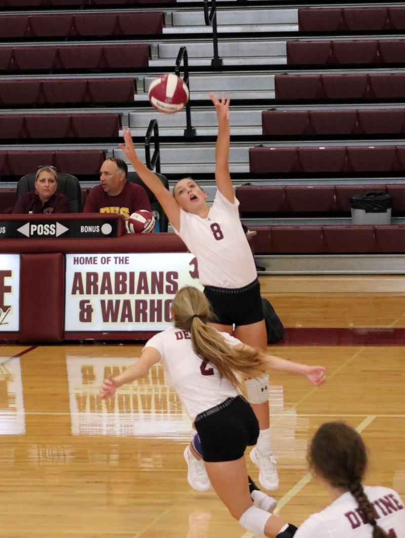 Varsity Arabians continue tough slate of games