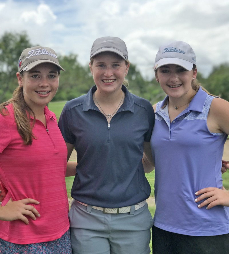 Busby, Spivey, and Weyel compete at Oso Beach Golf Course