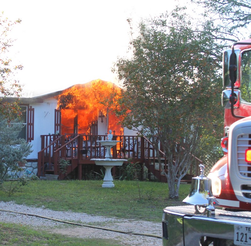 Medina County: Couple in their 70's lose home to fire