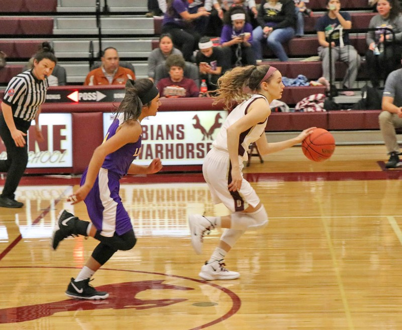Arabians continue undefeated in district