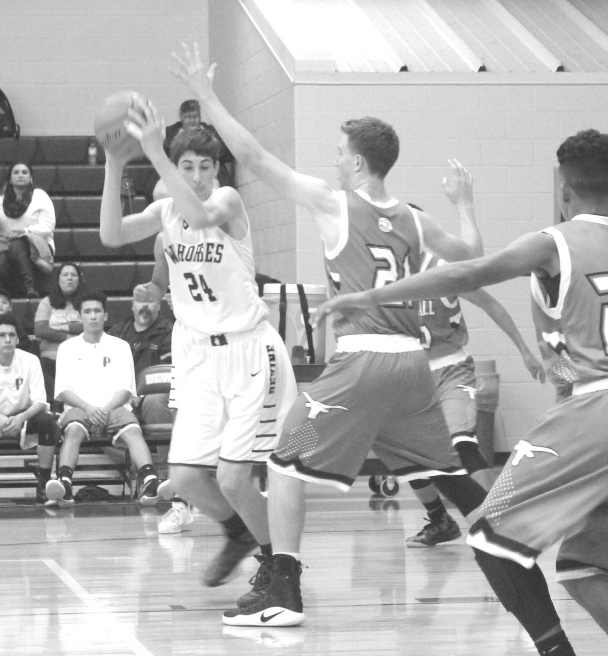 Varsity Warhorses Pull Away From Pearsall