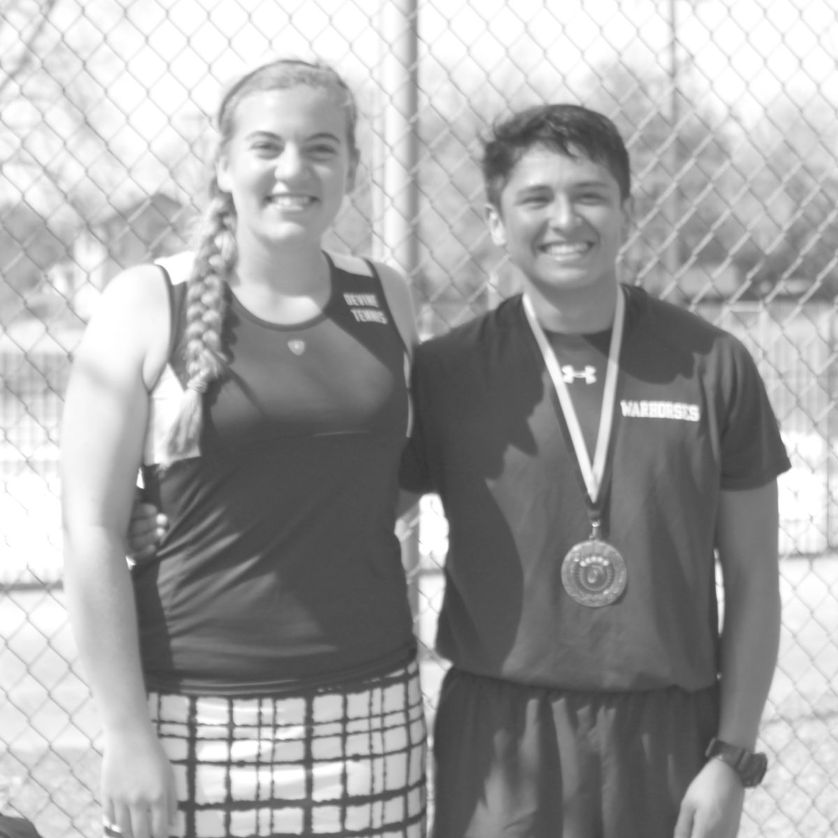 Devine Tennis captures 2nd place at Edison