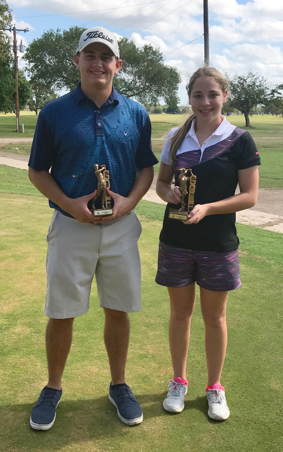 Busby-Wofford, Champion win Hondo Junior Golf Classic