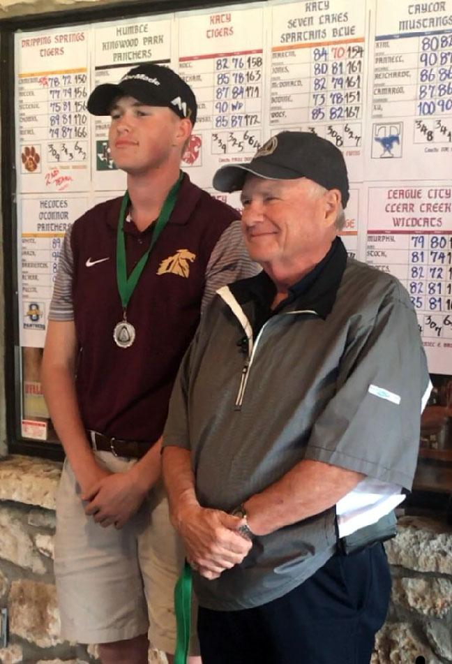 Warhorses take 6th place in Boerne Fair Oaks golf tournament