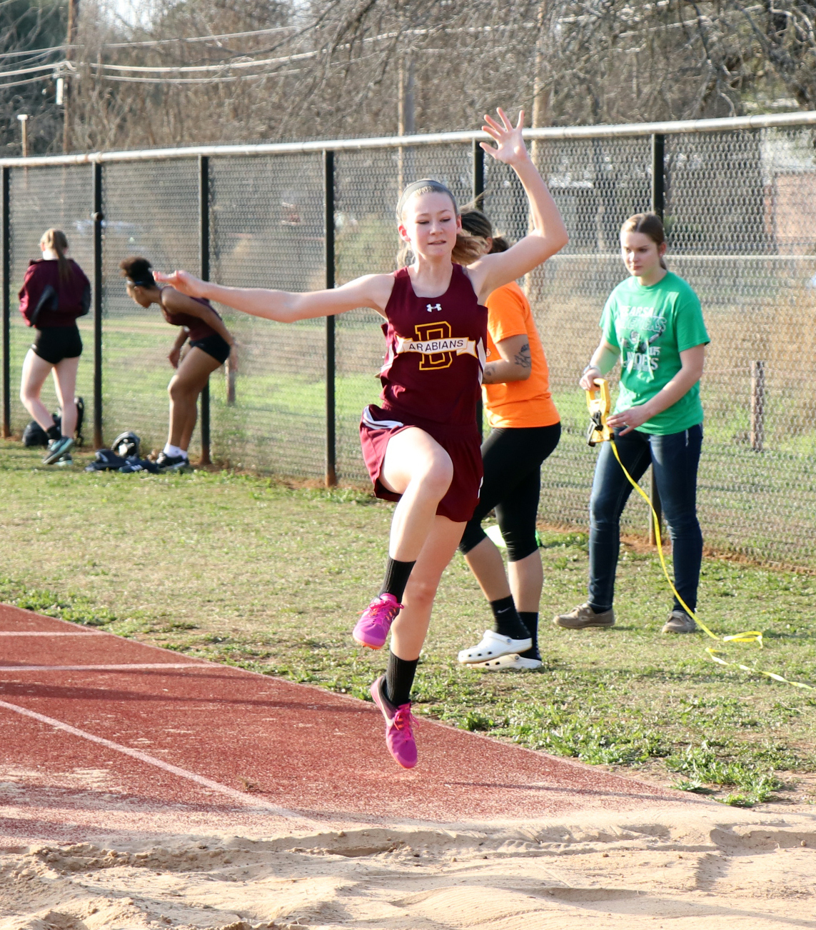JV track teams up and running