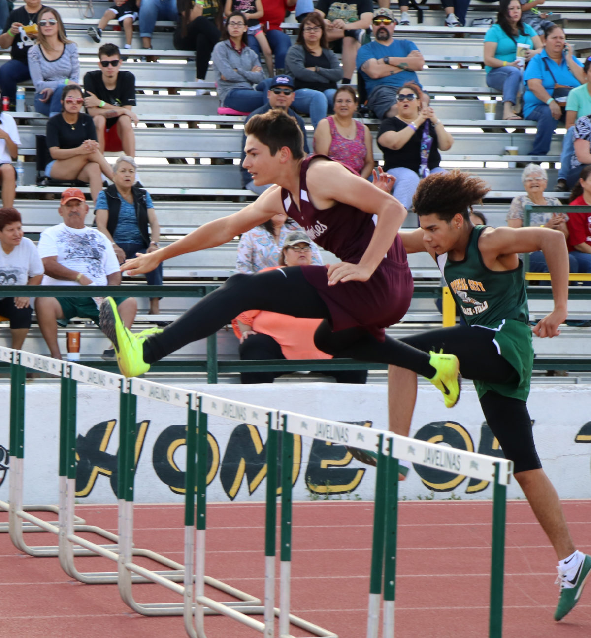 JV Warhorses finish 3rd in District track