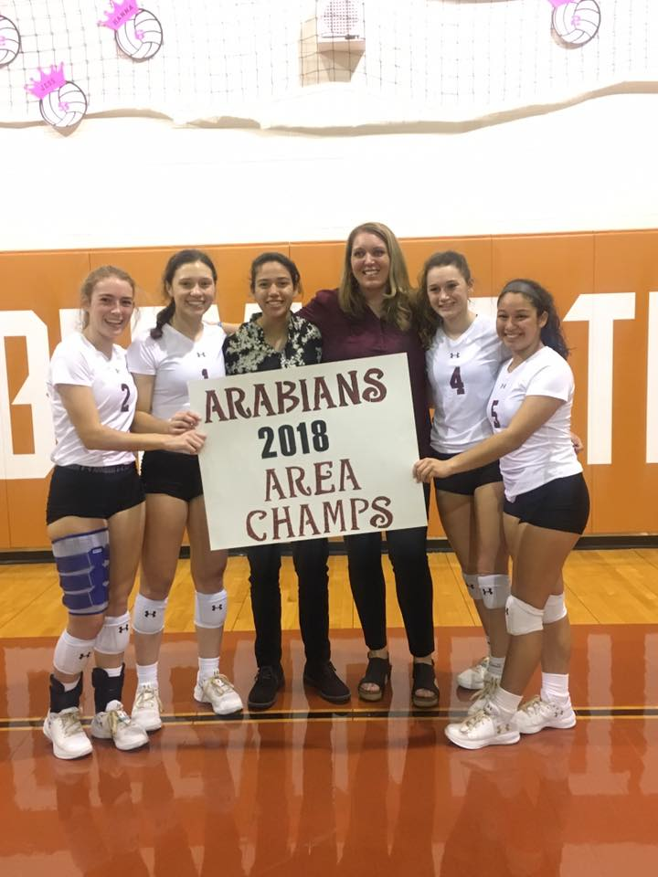 The Mighty Arabians have beaten Orange Grove to become the Area Champions!