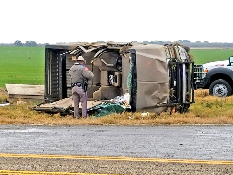 Firefighters extricate, rescue Bigfoot man trapped in rollover last week