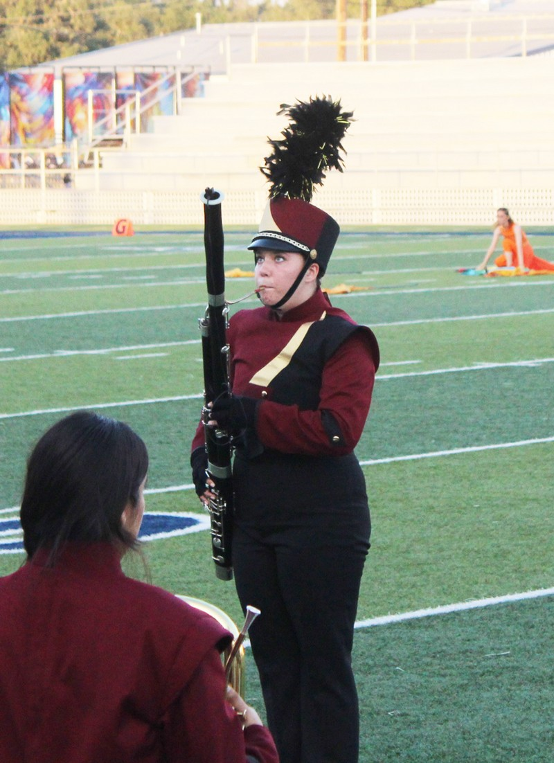 Amy Robinson advances to All-State Band on bassoon