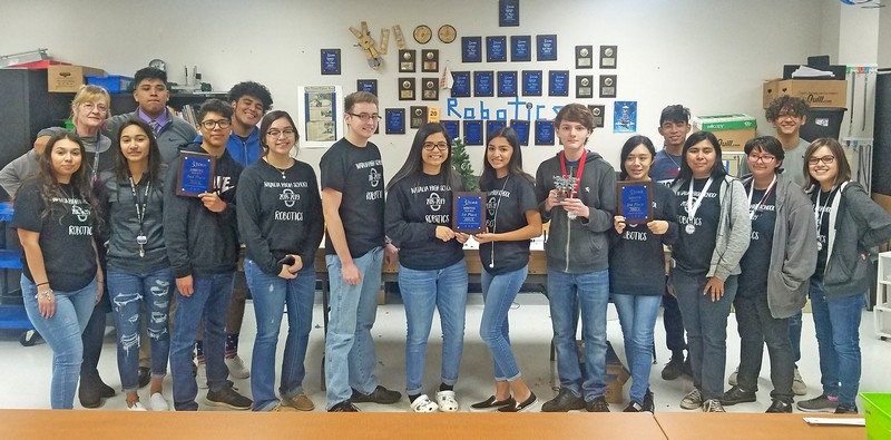Natalia Robotics advances to state for the 11th year