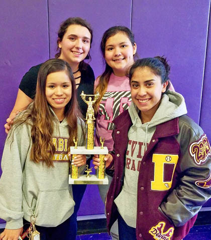 Arabians claim 3rd at East Central Powerlifting Invitational