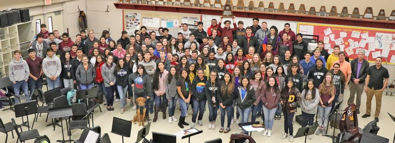 Warhorse Band wins UIL Sweepstakes