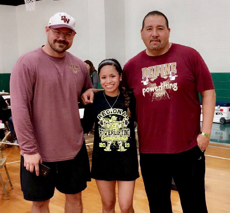 Arabian Aaliyah Terrazas moves on to State powerlifting competition
