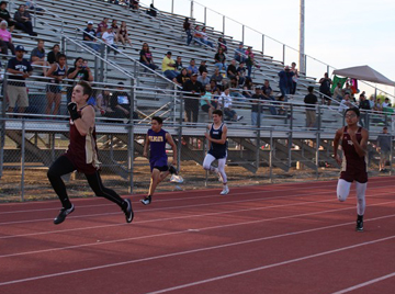 JV Warhorses finish 3rd in District track meet