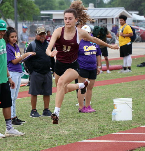 Arabians claim fourth at Area Track Meet; 10 to compete at Regional