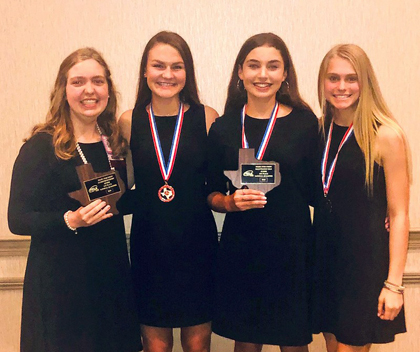 Four Devine FCCLA students qualify for Nationals