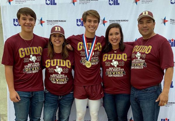 Zapata family enjoys Guido's State Championship