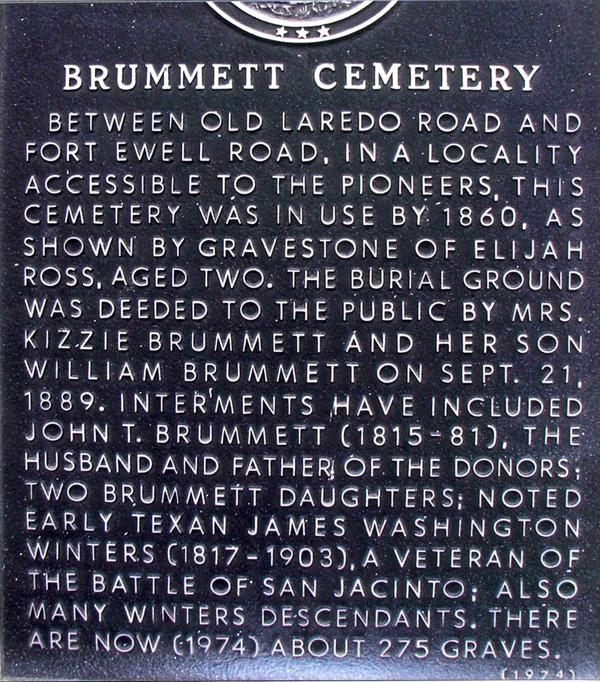Brummett Cemetery vandalized