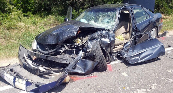 Two injured, one extricated in awful accident on FM 471