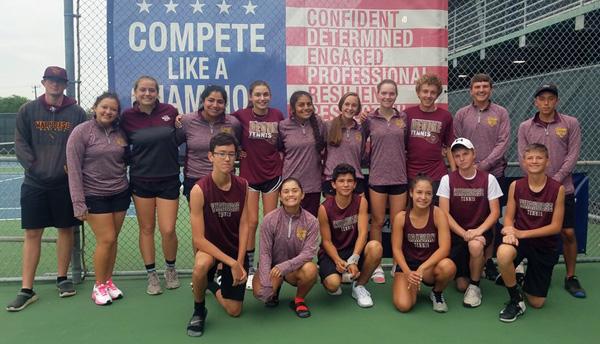Team Tennis Bi-District Champs