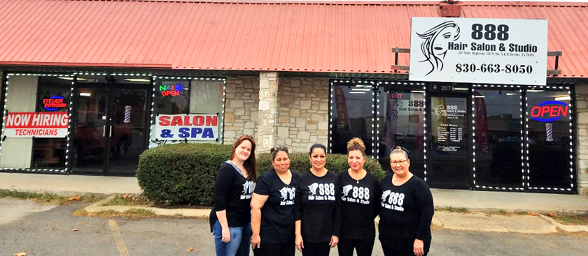 Spacious new 888 Hair Salon and spa opens in Devine