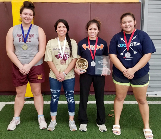 Arabian powerlifting places 3rd, Terrazas named Best Overall Lifter