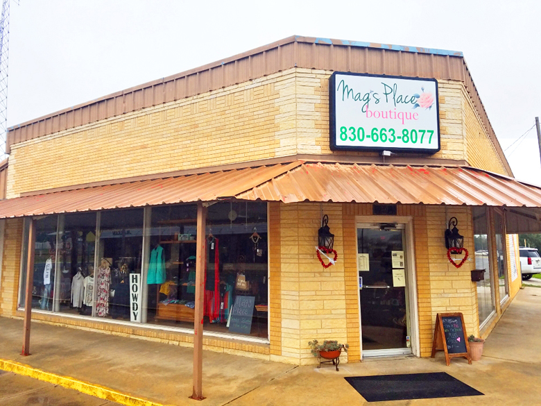 Mag's Place offers boutique shopping and hair salon all in one