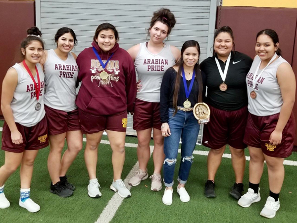 Arabians power lift themselves to 1st place at TSS; Terrazas and Diaz earn individual gold