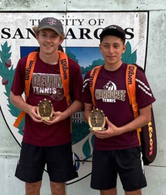Tennis brings home some top honors from San Marcos Leap Year Tournament