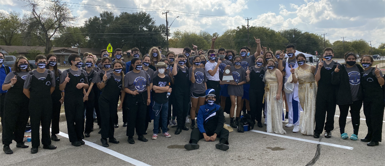 Natalia HS Band receives 7th consecutive first division rating at UIL Region 11 marching contest