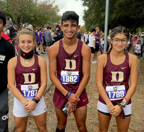 Devine's Joslin, Bowyer, and Garza compete at State Cross Country