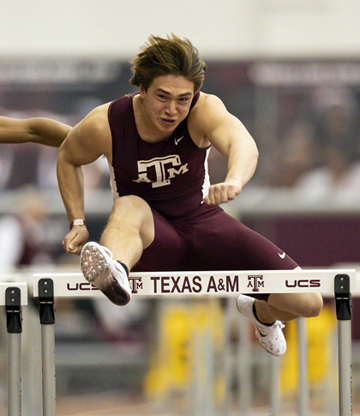 Zapata places 5th in 60 M High Hurdles for A&M in first meet of the season