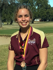 Arabian golf swings into action at Devine Golf Course; Emily Faubel 2nd place medalist