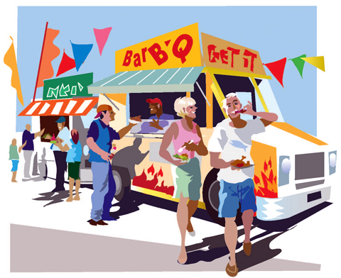 Food truck rally in Lytle this weekend