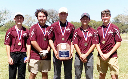 Warhorse Golf district champs; Schaefer brothers 1st and 2nd medalists