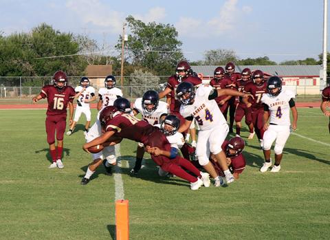 Freshman Horses pounce on Panthers 27-0