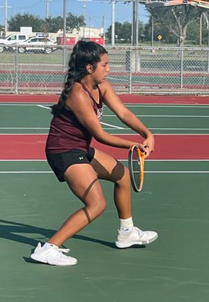 Team Tennis competes at Area